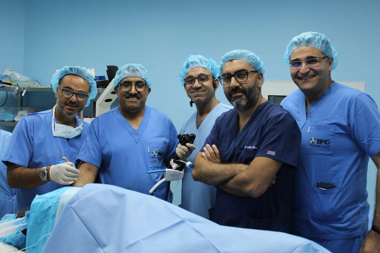 First Endo Sleeve Surgery in Lebanon